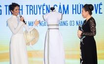 Áo dài thổ cẩm lên tạp chí Vogue của H'Hen Niê 'về' với bảo tàng