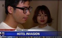 Hai du khách Việt lên đài Mỹ vì bắt trộm trong khách sạn