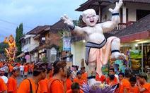 Bali 'mất điện' trong 'Ngày im lặng'