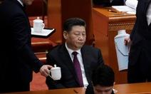 Chuyện trà nước, cấm điện thoại ở kỳ họp Quốc hội Trung Quốc