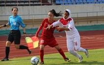 Việt Nam lần đầu góp mặt ở VCK Giải bóng đá nữ U-16 châu Á 2019