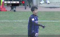 Công Phượng thi đấu 1 phút, chưa kịp chạm bóng trận ra mắt Incheon