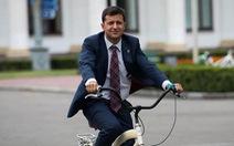 Diễn viên hài Vladimir Zelensky dẫn đầu cuộc đua tổng thống Ukraine