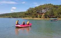Bơi thuyền trên hồ Tuyền Lâm, một người mất tích