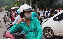 500 học sinh Quảng Ninh nghỉ học đã đến trường trở lại