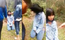 Nữ sinh lớp 7 bị nhóm nữ sinh bắt quỳ gối vì nói 'bạn có bầu'?