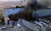 Cháy trung tâm thương mại ở Bangkok, 3 người chết