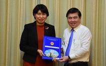 Bà Lê Thị Huỳnh Mai làm giám đốc Sở Kế hoạch và đầu tư TP.HCM