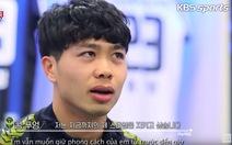 Công Phượng trên đài KBS: 'Tài xế taxi nhận ra em là học trò HLV Park'