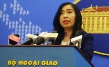 Bộ Ngoại giao nói về thông tin 'Việt Nam nhiều án tử hình'
