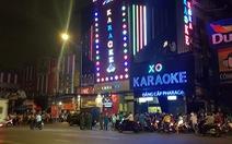 Công an TP.HCM phong tỏa, khám xét xuyên đêm quán karaoke của Phúc XO
