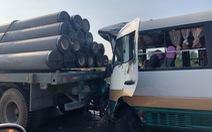 Ùn tắc nhiều giờ trên cao tốc TP.HCM - Trung Lương vì va chạm xe