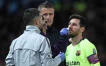 Messi vắng mặt trận gặp Huesca