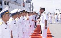 Hai tàu hải quân và 735 sĩ quan, thủy thủ Ấn Độ thăm Khánh Hòa