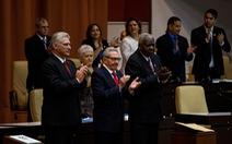 Chủ tịch Cuba kêu gọi củng cố phòng thủ, kinh tế đối phó với Mỹ