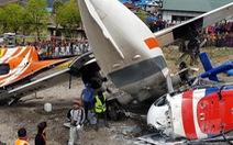 Máy bay gặp nạn ở sân bay trên núi, 3 người thiệt mạng