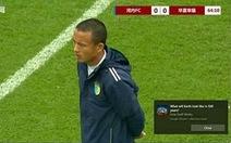 HLV Văn Biển nổi giận vì học trò ở đội U17 Hà Nội đấm đối thủ Trung Quốc