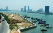 Lấn sông Hàn phân lô bán nền