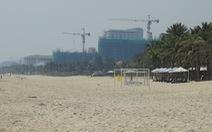 Tranh cãi quanh chuyện làm tuyến đường bêtông dọc bãi biển Đà Nẵng
