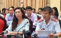 Sữa học đường 17 vi chất làm 'nóng' giao ban báo chí Thành ủy Hà Nội
