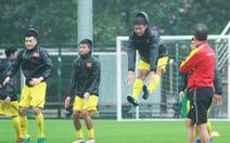 U-18 Việt Nam tập với sơ đồ 3 trung vệ như đội tuyển quốc gia