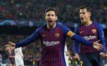 Messi lập cú đúp, Barca chấm dứt giấc mơ Champions League của MU