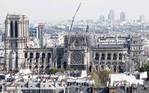 Tranh luận 'nảy lửa' thời gian tái thiết nhà thờ Đức Bà Paris