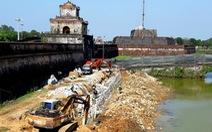 Xác định không đúng mức độ hư hỏng của bờ kè kinh thành Huế