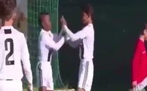Video con trai Cristiano Ronaldo ghi 7 bàn giúp Juventus 'nghiền nát' CLB Maritimo China
