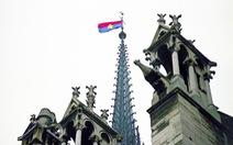 Ai đã treo cờ Việt Nam trên đỉnh nhà thờ Đức Bà Paris?