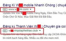 Nhà cái nước ngoài rải thông tin chiêu dụ con bạc Việt