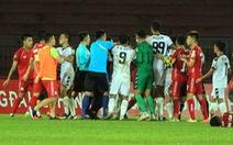 Trận Hải Phòng- SHB Đà Nẵng: chơi bóng bạo lực nhưng không cầu thủ nào bị phạt