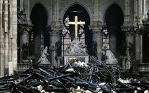 Pháp tháo dỡ toàn bộ tranh ở nhà thờ Đức Bà Paris đi phục chế