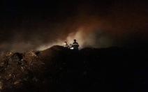 Bãi rác 'khủng' ở Tiền Giang cháy 3 ngày chưa dập tắt hoàn toàn