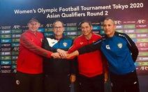 Tuyển bóng đá nữ VN đặt mục tiêu có điểm trước Uzbekistan