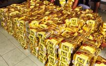 Cận cảnh Công an TP.HCM bắt hơn 1,1 tấn ma túy ngụy trang trong loa thùng