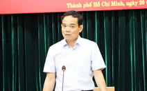 Ông Trần Lưu Quang: 'Ma túy bắt ở TP.HCM quy ra tiền không đếm nổi số 0'