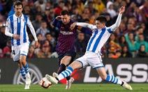 Messi bị chặn đứng, Barca vẫn tiến sát 'ngai vàng'