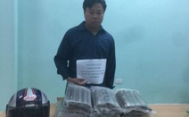 Bắt nghi phạm vận chuyển trái phép 19kg thuốc nổ