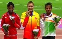Quách Thị Lan giành huy chương vàng 400m rào Giải điền kinh vô địch châu Á