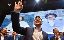 Diễn viên hài từng đóng vai tổng thống sẽ trở thành tổng thống Ukraine