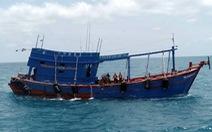 Bắt tàu chở 80.000 lít dầu DO không rõ nguồn gốc ở Côn Đảo