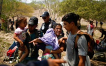 Mexico giúp ngăn 15.000 dân nhập cư sang Mỹ trong một tháng
