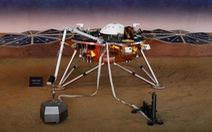 Tàu thăm dò InSight lần đầu phát hiện 'động đất' trên sao Hỏa