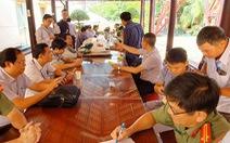 Công an Bình Dương họp báo vụ thảm sát 3 người ở Tân Uyên
