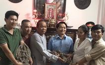 Một gia đình tặng 7 pho tượng quý ngàn năm của văn hóa Óc Eo