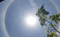 Xuất hiện hào quang mặt trời tại Hội An