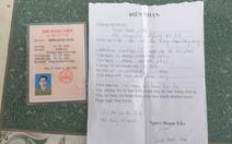 Tước quân tịch thiếu úy công an mang thẻ Đảng đi cầm 50 triệu đồng