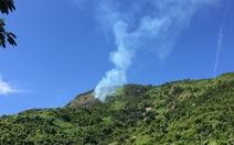 Cháy 6ha rừng đặc dụng đèo Cả