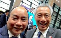 Thủ tướng Singapore, Việt Nam chụp bức ảnh 'wefie' siêu dễ thương